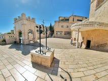 Igreja ortodoxa grega do aviso, Nazareth Fotografia de Stock Royalty Free