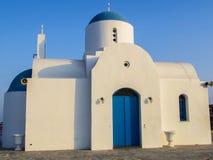 Igreja ortodoxa grega em Chipre Imagens de Stock Royalty Free