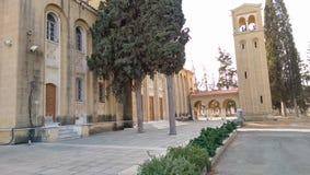 Igreja ortodoxa grega em nicosia Foto de Stock Royalty Free
