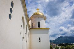 Igreja ortodoxa na barra Fotografia de Stock