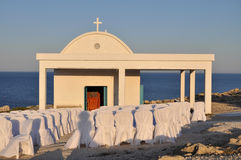 Igreja ortodoxa no casamento Imagens de Stock