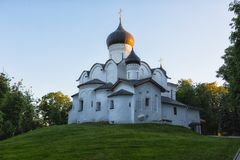 Igreja ortodoxa, Pskov, Rússia Fotos de Stock