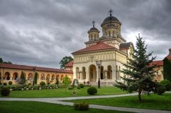 Igreja ortodoxa, Romania Imagem de Stock