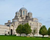 Igreja ortodoxa sérvio fotografia de stock royalty free