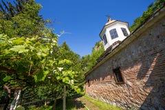 """A igreja ortodoxa velha da mãe dos """"God's do monastério de Cherepish Fotos de Stock"""