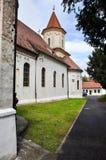 Igreja ortodoxa velha em Brasov, Roménia Fotos de Stock