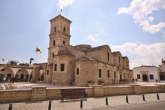 Igreja ortodoxa velha, Larnaca, Chipre Imagem de Stock Royalty Free