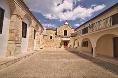 Igreja ortodoxa velha, Larnaca, Chipre Imagens de Stock Royalty Free