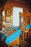 Igreja para dentro Foto de Stock