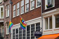 Igreja para minorias sexuais Fotos de Stock