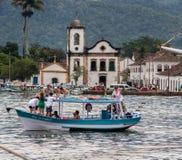 Igreja Paraty Rio de Janeiro de Santa Rita Fotos de Stock