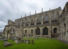 Igreja paroquial da abadia de Malmesbury Imagem de Stock Royalty Free