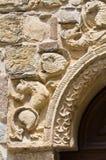 Igreja paroquial de Fornovo di Taro. Emilia-Romagna. Itália. Fotografia de Stock Royalty Free