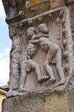 Igreja paroquial de Fornovo di Taro. Emilia-Romagna. Itália. Imagem de Stock