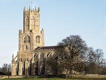 Igreja paroquial de Fotheringhay Imagem de Stock