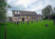 Igreja paroquial do século VII da abadia de Malmesbury Imagem de Stock Royalty Free