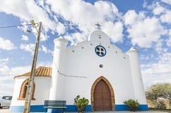 Igreja paroquial em Vale de Açor de Cima Foto de Stock