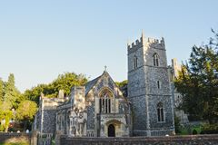 Igreja paroquial no Suffolk Imagem de Stock Royalty Free