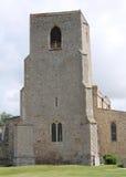 Igreja pequena da vila imagens de stock royalty free