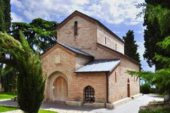 Igreja pequena em Kakheti, Geórgia imagens de stock royalty free