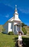Igreja pequena em um Cal do norte fotos de stock royalty free