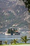 Igreja pequena na ilha de San Georges foto de stock royalty free