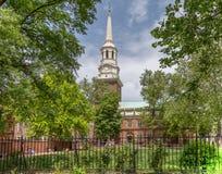 Igreja Philadelphfia de Christ fotografia de stock