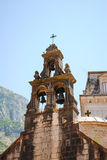 Igreja pitoresca em Montenegro Fotos de Stock Royalty Free