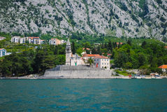 Igreja pitoresca em Montenegro Fotos de Stock