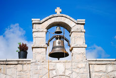 Igreja pitoresca em Montenegro Fotografia de Stock