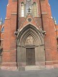 Igreja portal Fotos de Stock Royalty Free