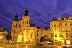 Igreja Praga, república checa Foto de Stock Royalty Free