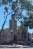 Igreja presbiteriana de Laguna no centro da cidade Fotos de Stock Royalty Free