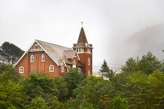 A igreja presbiteriana primeiramente no príncipe Rupert, Columbia Britânica foto de stock royalty free