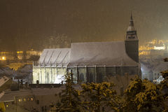 Igreja preta - Biserica Neagră fotos de stock