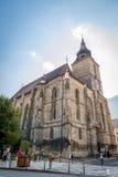Igreja preta, Biserica Neagra em Brasov Imagem de Stock