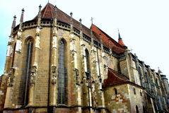 Igreja preta, Brasov-Romania Imagens de Stock Royalty Free