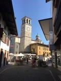 Igreja principal em Tarcento Imagem de Stock