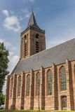 Igreja principal no centro histórico de Monniclendam Fotos de Stock Royalty Free