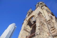 Igreja protestante velha em Berlim imagens de stock royalty free