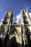 Igreja Quito, Equador fotos de stock
