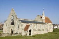 Igreja real da guarnição, Portsmouth Fotografia de Stock Royalty Free