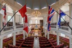 Igreja redonda do ` s de St George de Halifax Foto de Stock