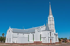 Igreja reformada Dutch Aberdeen, África do Sul Foto de Stock