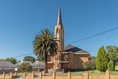 Igreja reformada Dutch em Estcourt imagens de stock