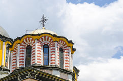 A igreja Rila, Bulgária fotos de stock