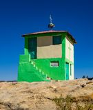 A igreja rochosa de Wukro Cherkos em Eti?pia imagens de stock royalty free