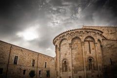 Igreja românico imagens de stock