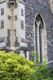 Igreja romena do século XII do estilo de St Mary o Virgin, Dôvar, Reino Unido, Reino Unido Imagem de Stock Royalty Free