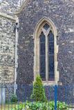 Igreja romena do século XII do estilo de St Mary o Virgin, Dôvar, Reino Unido Imagens de Stock Royalty Free